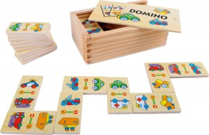 Gra domino - Pojazdy / Small Foot Design